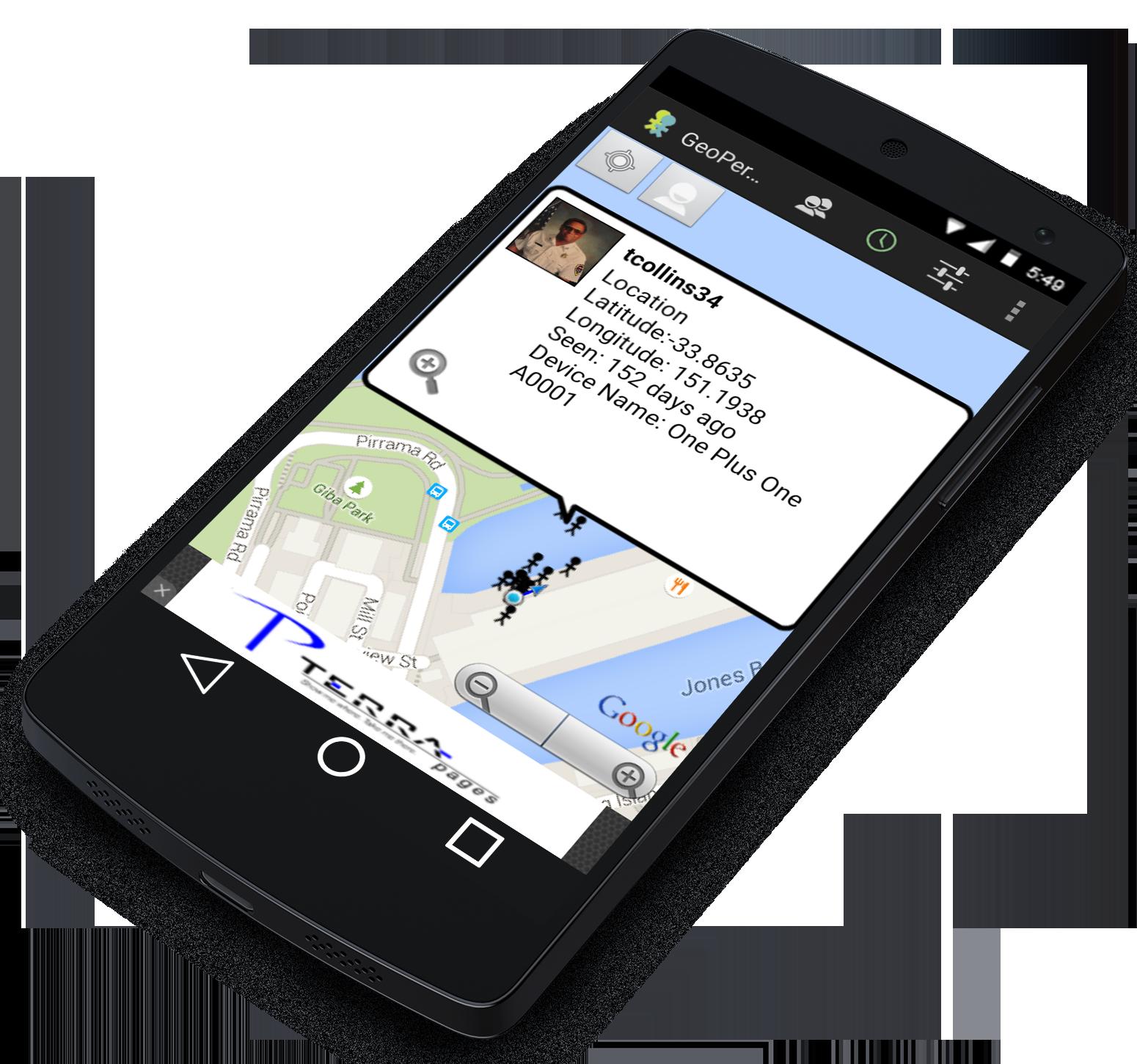 Nexus 5 for app marketing flipped